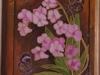 Орхидея со стрекозами
